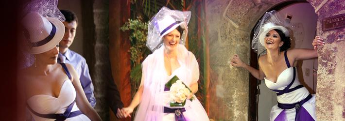 לגנוב את ההצגה עם שמלת שואו - שמלת כלה בסגנון תאטרלי